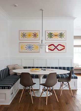 striped banquet country kitchen ideas