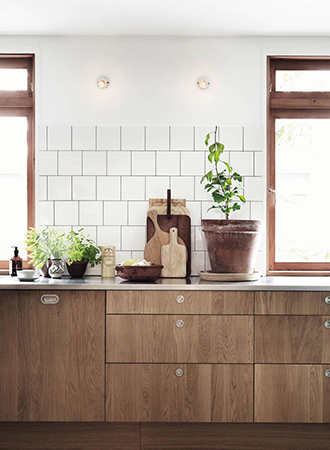 modern wooden cabinets country kitchen ideas