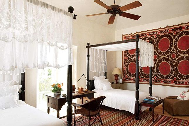 Tapestry bedroom wall art ideas