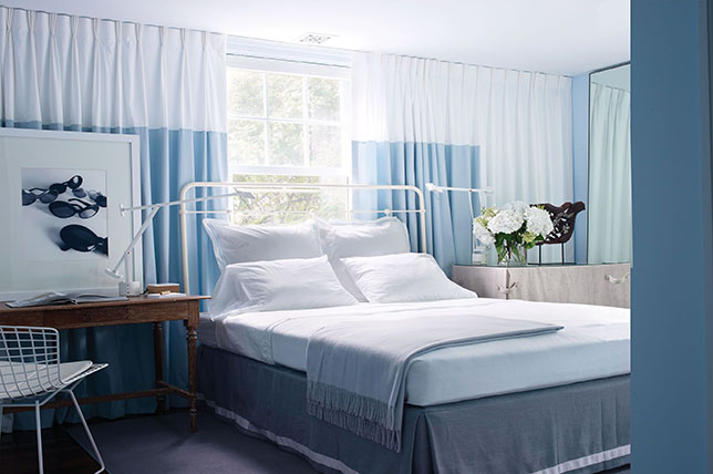 Curtains bedroom wall art ideas