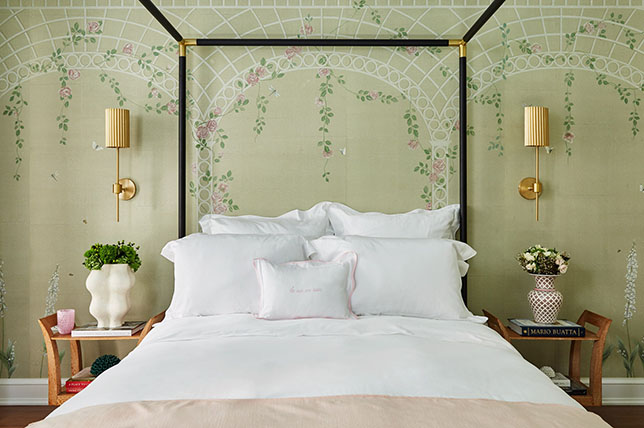 Flower bedroom wall art ideas