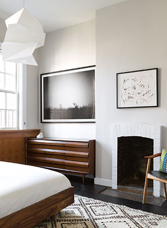 Minimal bedroom wall art ideas