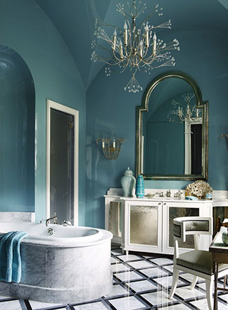bold bathroom wall art ideas