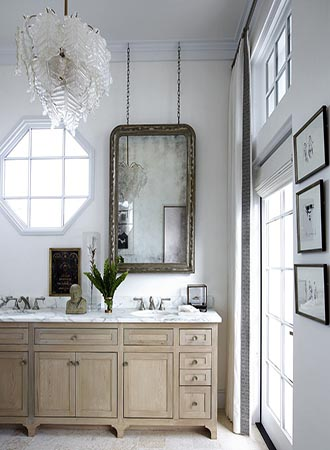 Gallery bathroom wall art ideas