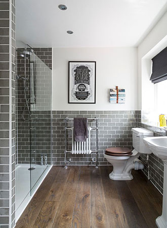 Vintage bathroom wall art ideas