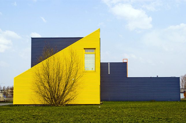 modern yellow house exterior colors