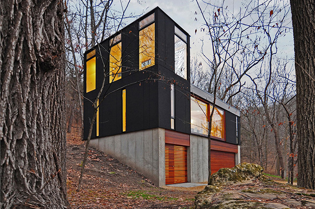 modern contrast house exterior colors