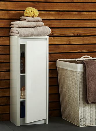 Bathroom storage ideas large closet