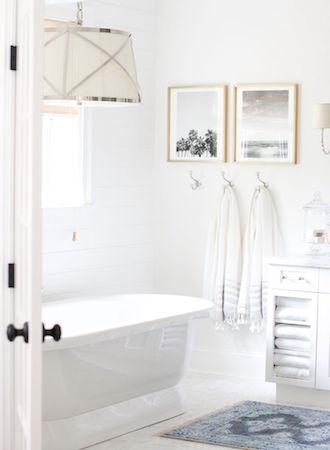 Bathroom storage ideas hang hooks