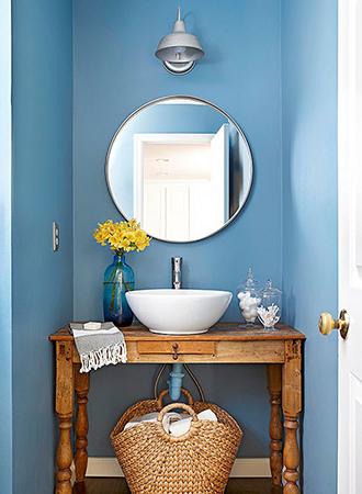under the sink basket bathroom storage ideas