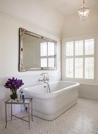 antique silver frame bathroom mirror 2019