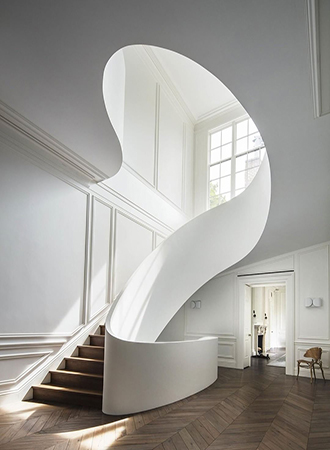 sculptural staircase ideas