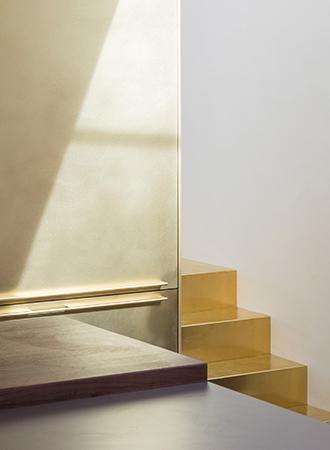 golden stair ideas
