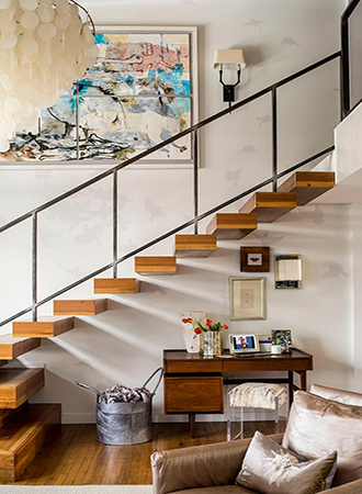 Ideas for stairs in the work area