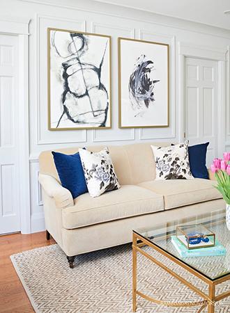 cheap home decor ideas DIY artwork
