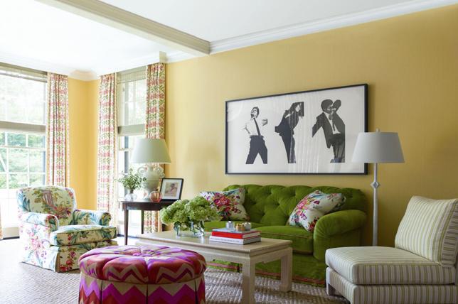 Yellow curtain ideas