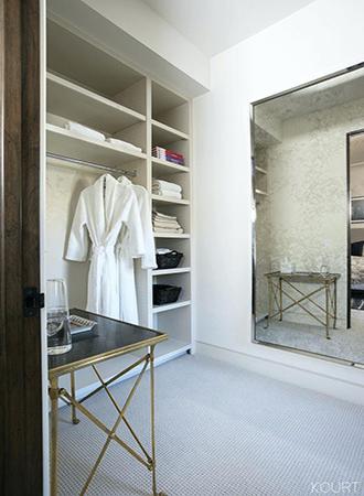 Closet organization bedroom decor