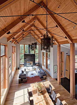 Design ideas for vaulted ceilings