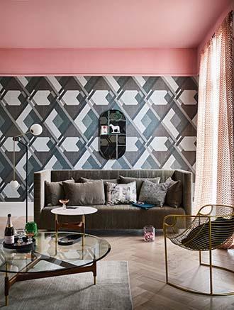 bright color ceiling design ideas