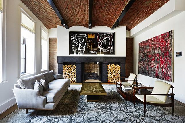 Design ideas for brick ceilings
