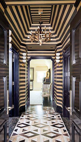 Art deco ceiling design ideas