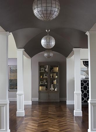 dark color ceiling design ideas