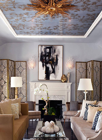 Design ideas for wall ceilings
