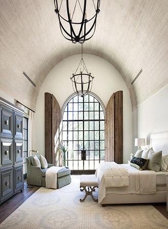 Design ideas for barrel vault ceilings