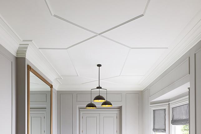 geometric ceiling design ideas