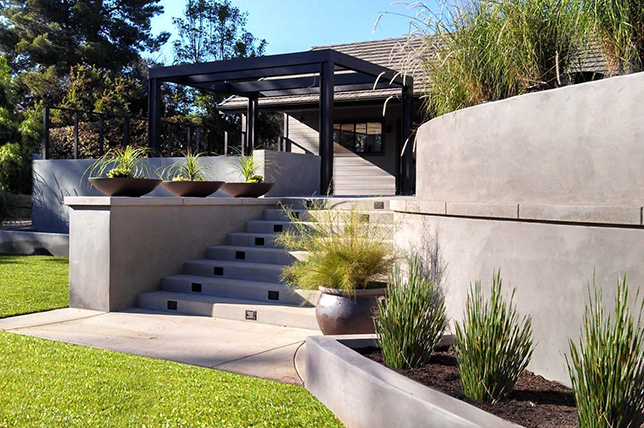 Retaining wall ideas materials