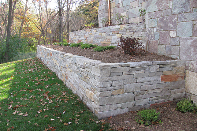 Stone retaining wall ideas