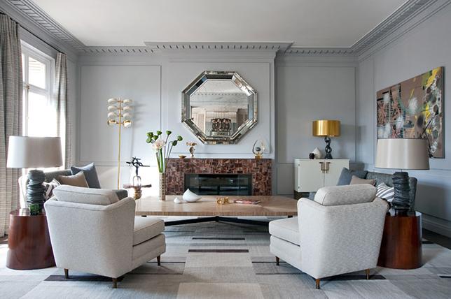Mirror living room remodel ideas