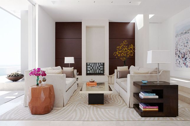 Earth tone living room remodel ideas