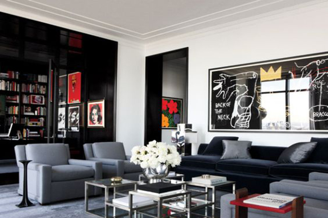 Minimal art living room remodel ideas