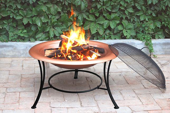 Copper fire pit ideas