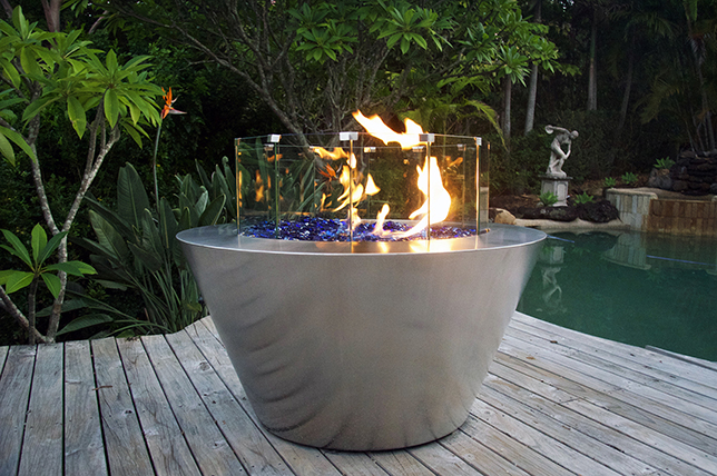 Ideas for steel fire pits