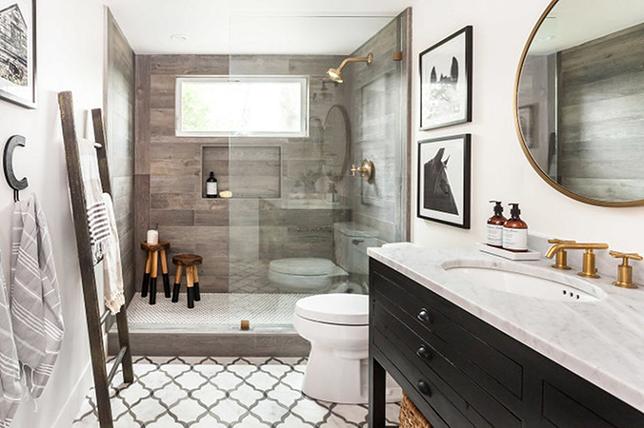 Minimal rustic bathroom ideas