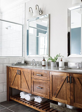 Bathroom counter rustic bathroom ideas