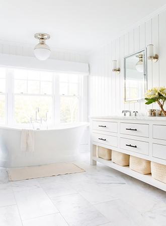 Basket storage rustic bathroom ideas