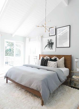 minimalist bedroom ideas color scheme