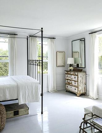 White bedroom floor ideas 2019