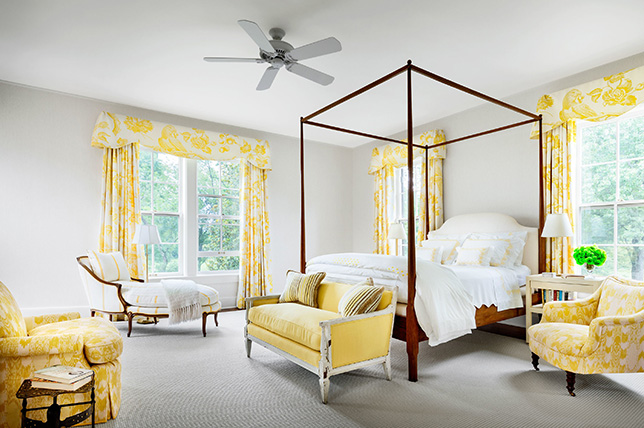 traditional bedroom for interior design