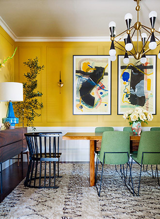 Color trends 2019 golden yellow