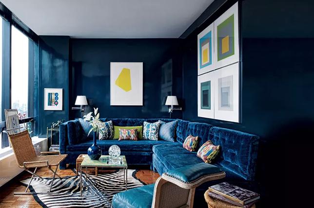 Color trends 2019 deep blue
