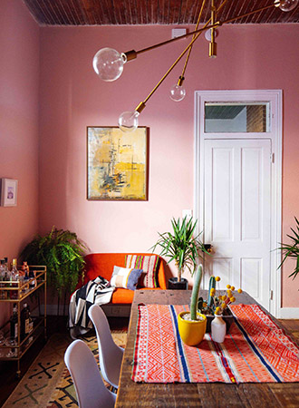 Color trends 2019 dusty pink