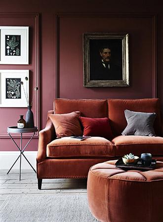 Color trends 2019 burgundy