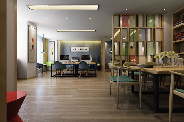 layered office decor trends
