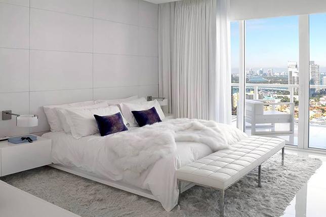 modern white minimal bedroom floor ideas 2019