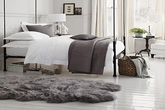 Sheepskin bedroom flooring ideas 2019
