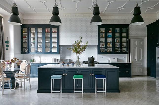 black modern kitchen cabinets ideas
